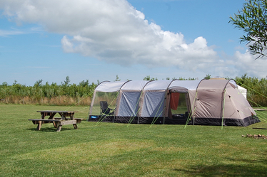 Lots of space for even the largest tents & Quiet Family Camping in Pembrokeshire