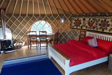 Family Yurt Holidays in Wales | Romantic Yurt Glamping ...