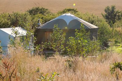 Yurt holiday breaks in Wales
